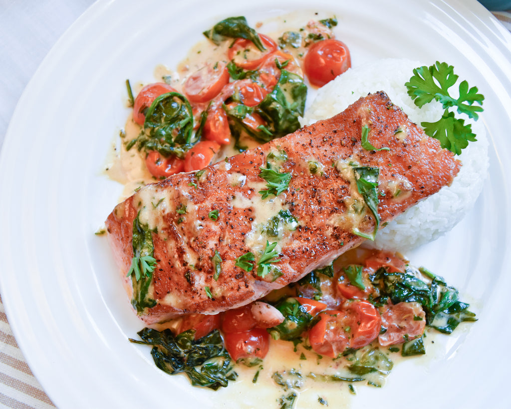 Tuscan Butter Salmon