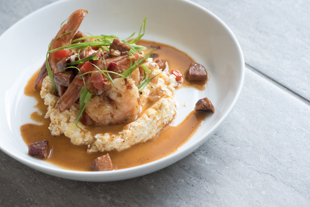 NOLA Shrimp and Grits