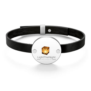 LTN Water Lantern Leather Bracelet