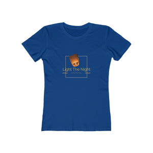 Women's Light The Night Boyfriend Tee