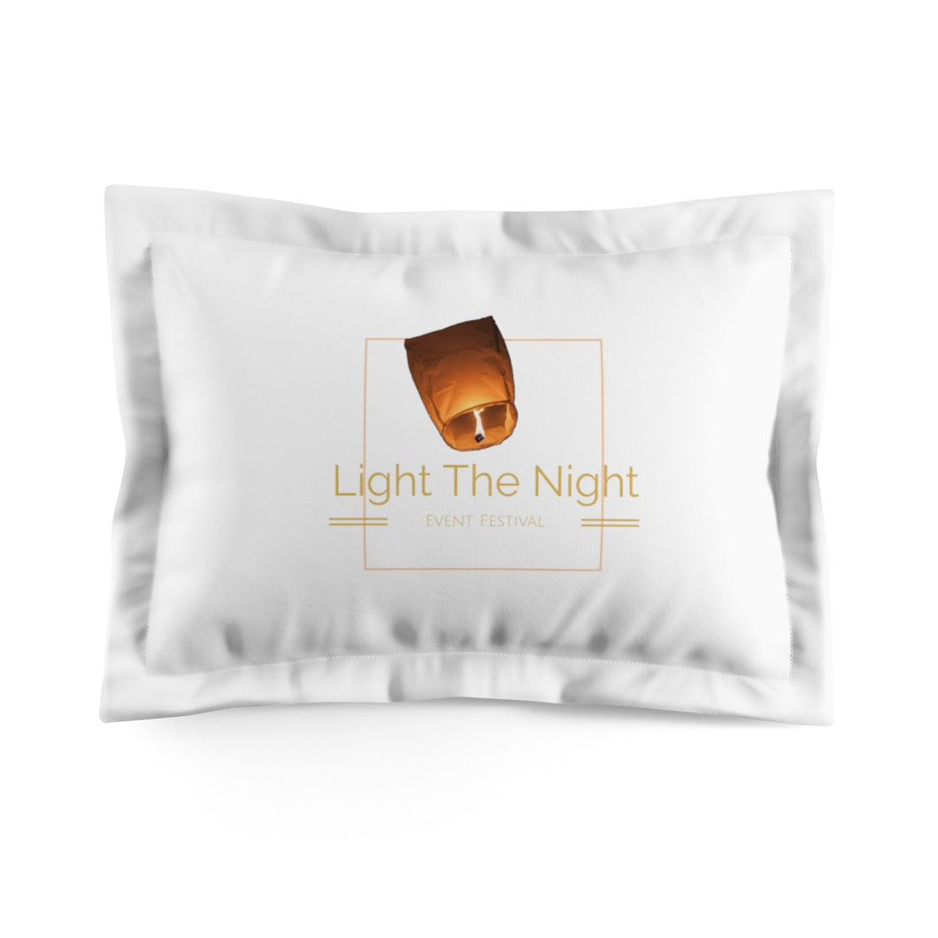 Microfiber Light The Night Pillow Sham