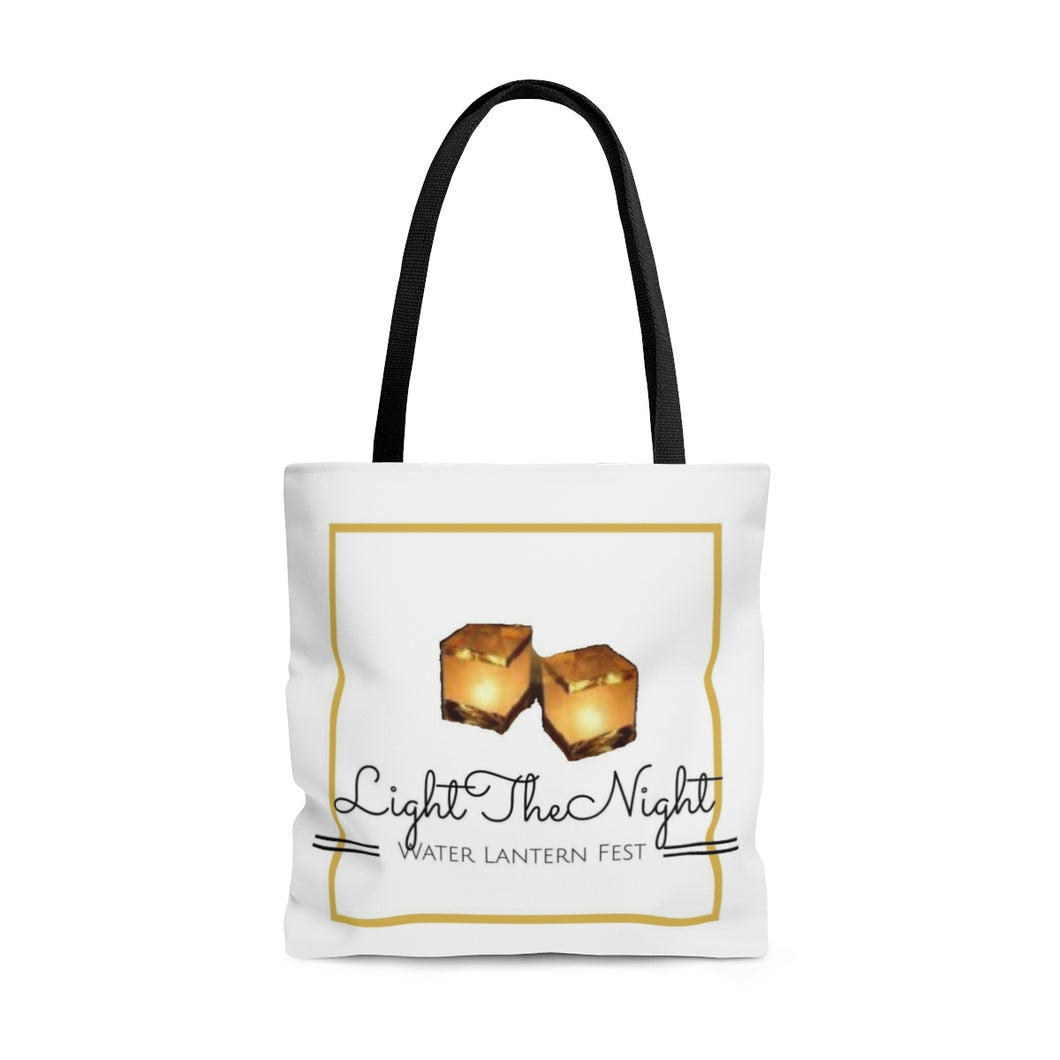 Water Lantern Tote Bag