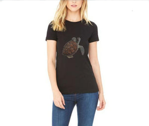 Dark Sea Turtle T-Shirt