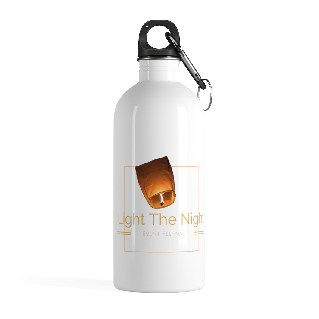 Stainless Steel Light The Night Water Bottle