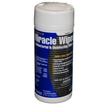 MIRACLE WIPES ANTIBACTERIAL & DISINFECTING 35 SHEET