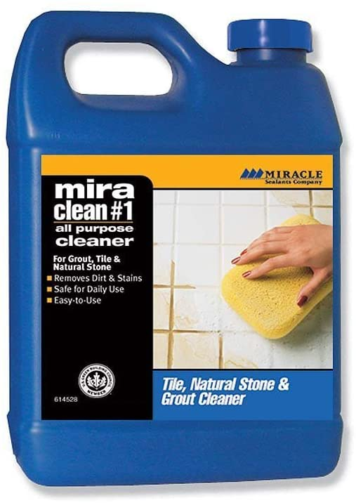 MIRACLEAN #1 Tile & Stone Cleaner 128OZ. GALLON