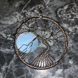 Moonrise Tree Wrap Opal