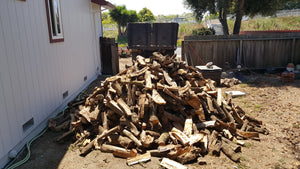 3/4 cord firewood delivered