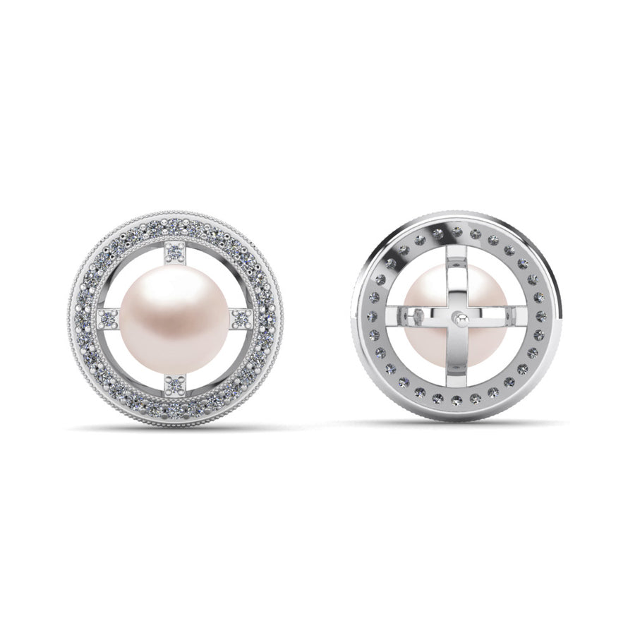 Celestial Pearl Earrings