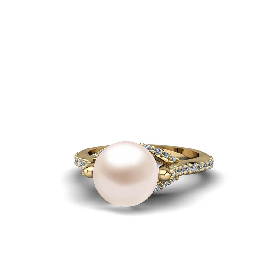 At-Attention Pearl Ring
