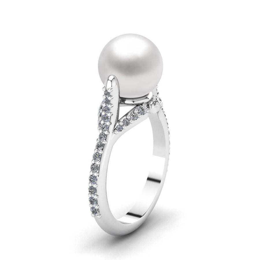 At-Attention Pearl Ring - Scale Test