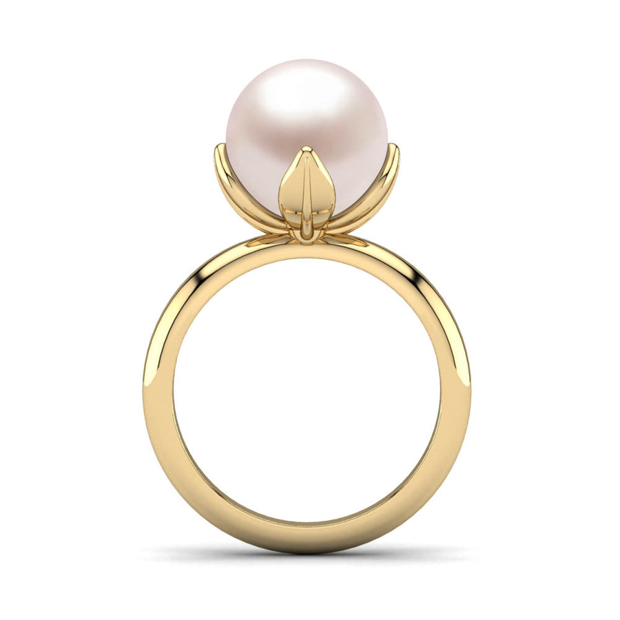 Snowdrop Pearl Ring - Scale Test
