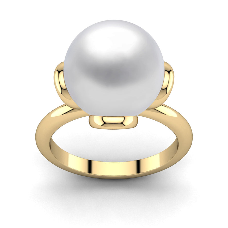 Flower Power Pearl Ring