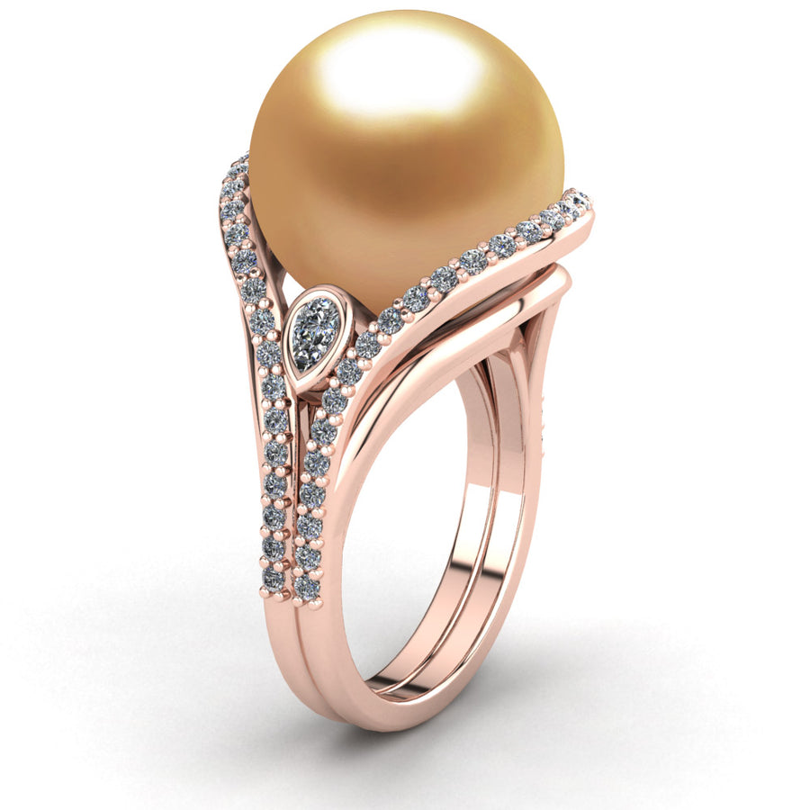 Blooming Pearl Ring