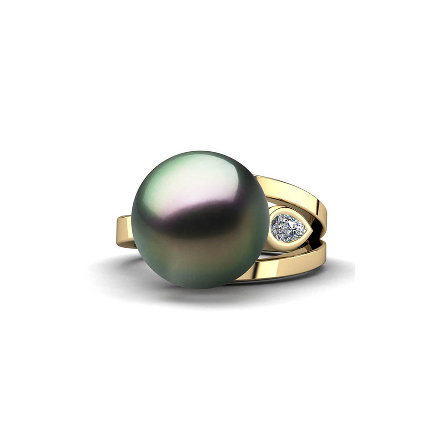 Easygoing Pearl Ring