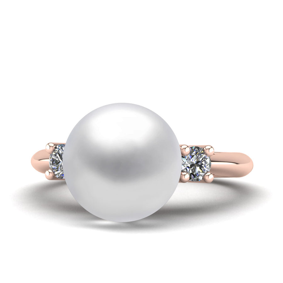 Generations Pearl Ring-18K Rose Gold-South Sea-South Sea White
