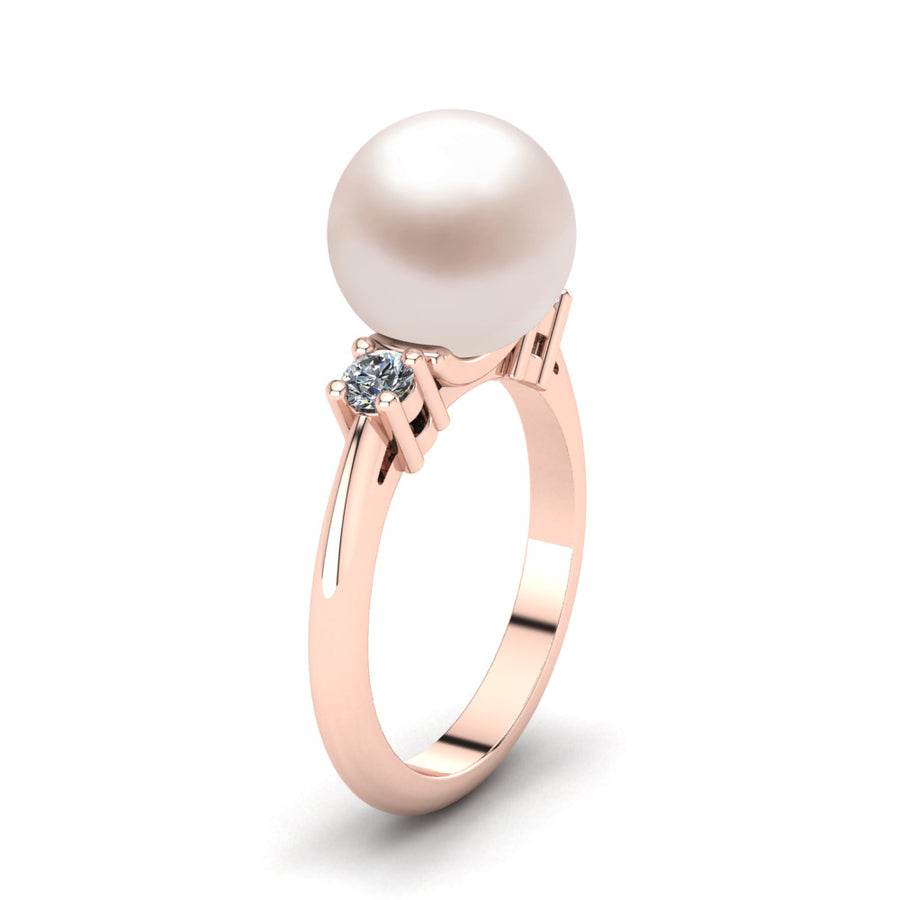 Generations Pearl Ring-18K Rose Gold-South Sea-South Sea Rose