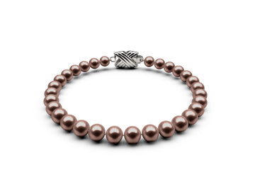 5.5-6mm AA Chocolate Freshwater Bracelet
