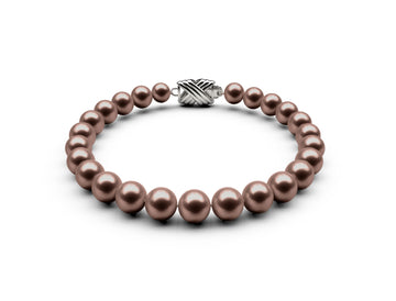 6.5-7mm AAA Chocolate Freshwater Bracelet