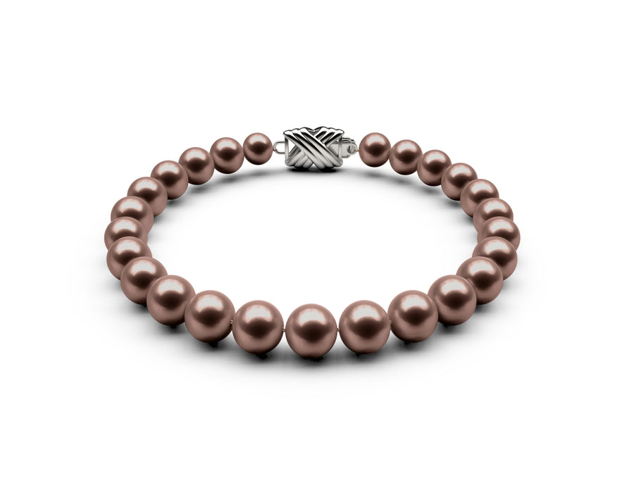 6.5-7mm AA Chocolate Freshwater Bracelet