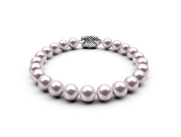 7.5-8mm AAA White Akoya Bracelet