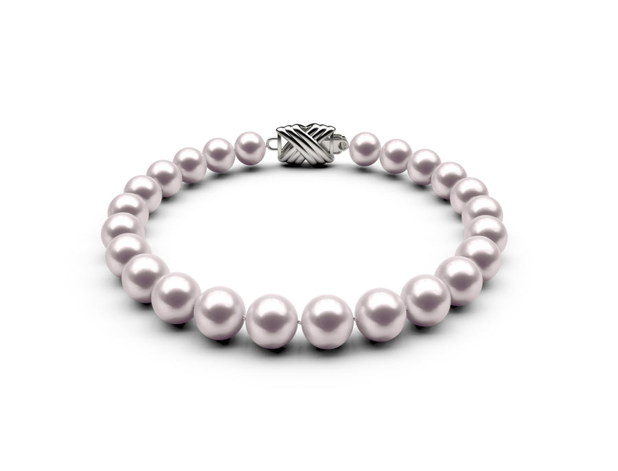 7-7.5mm AAA White Akoya Bracelet