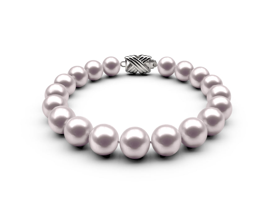 8-8.5mm AAA White Akoya Bracelet