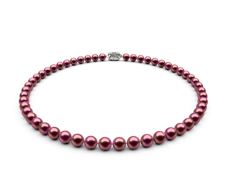 6.5-7mm AAA Cranberry Freshwater Necklace