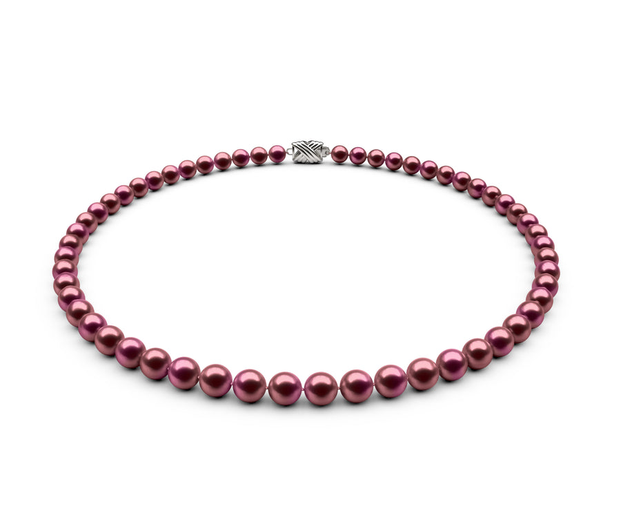 6-6.5mm AAA Cranberry Freshwater Necklace