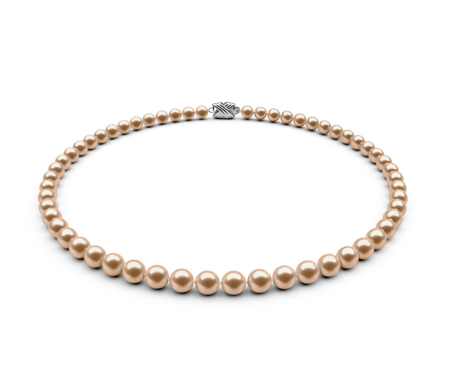 6-6.5mm AAA Peach Freshwater Necklace