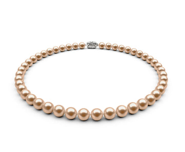 7.5-8mm AAA Peach Freshwater Necklace