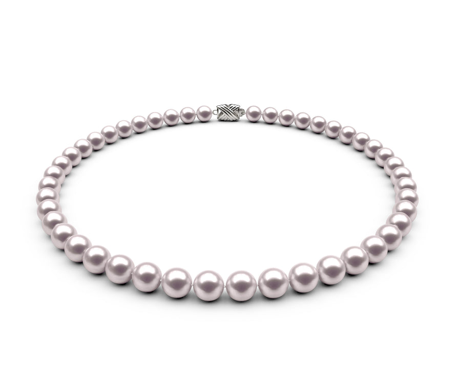 7.5-8mm AAA White Freshwater Necklace
