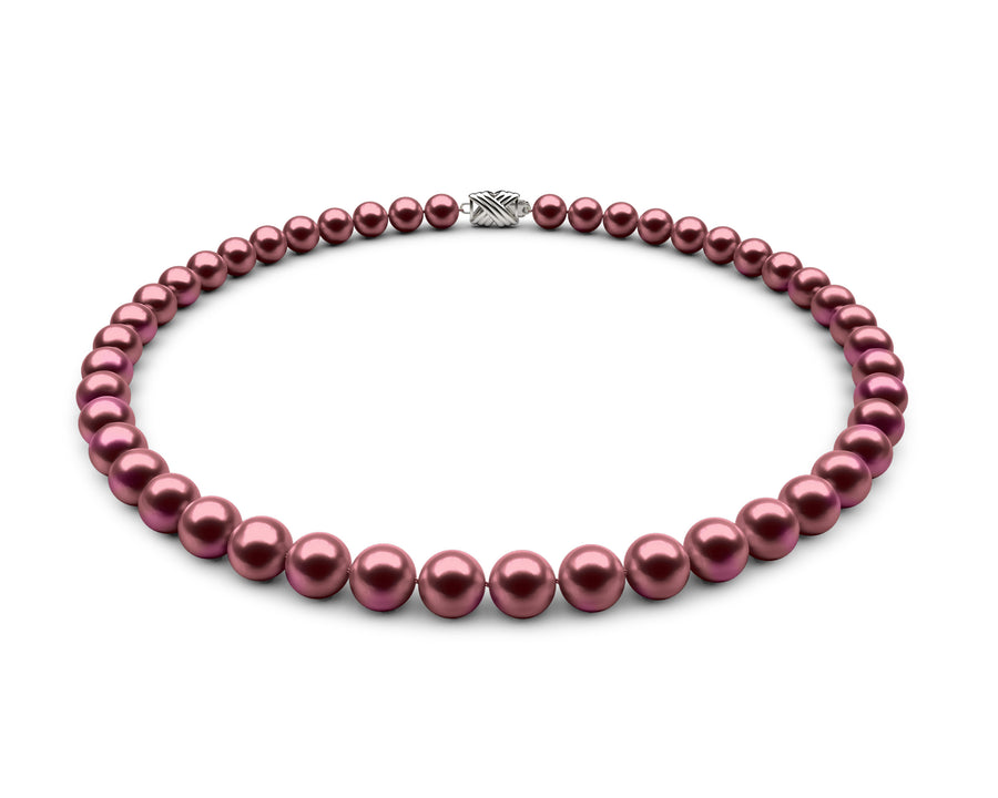 8-8.5mm AA Cranberry Freshwater Necklace