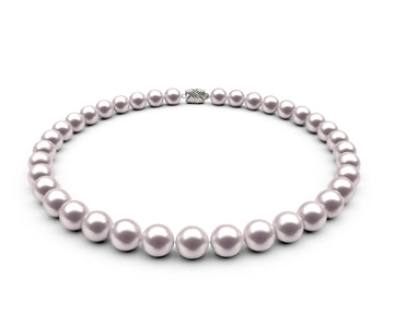 9.5-10mm AAA White Freshwater Necklace