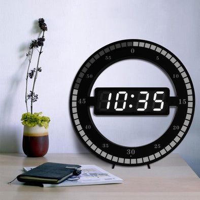 Dark-Activated Digital LED Clock