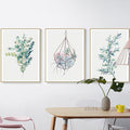 Scandinavian Plants & Flowers Wall Poster - yourdecordiary
