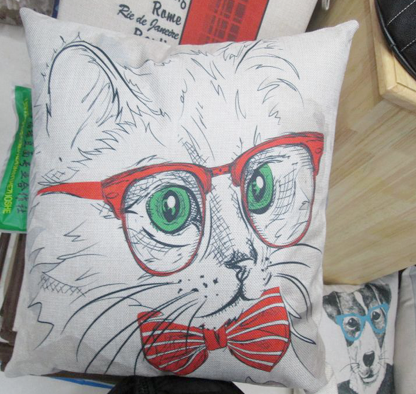 5450 - Cat with glasses