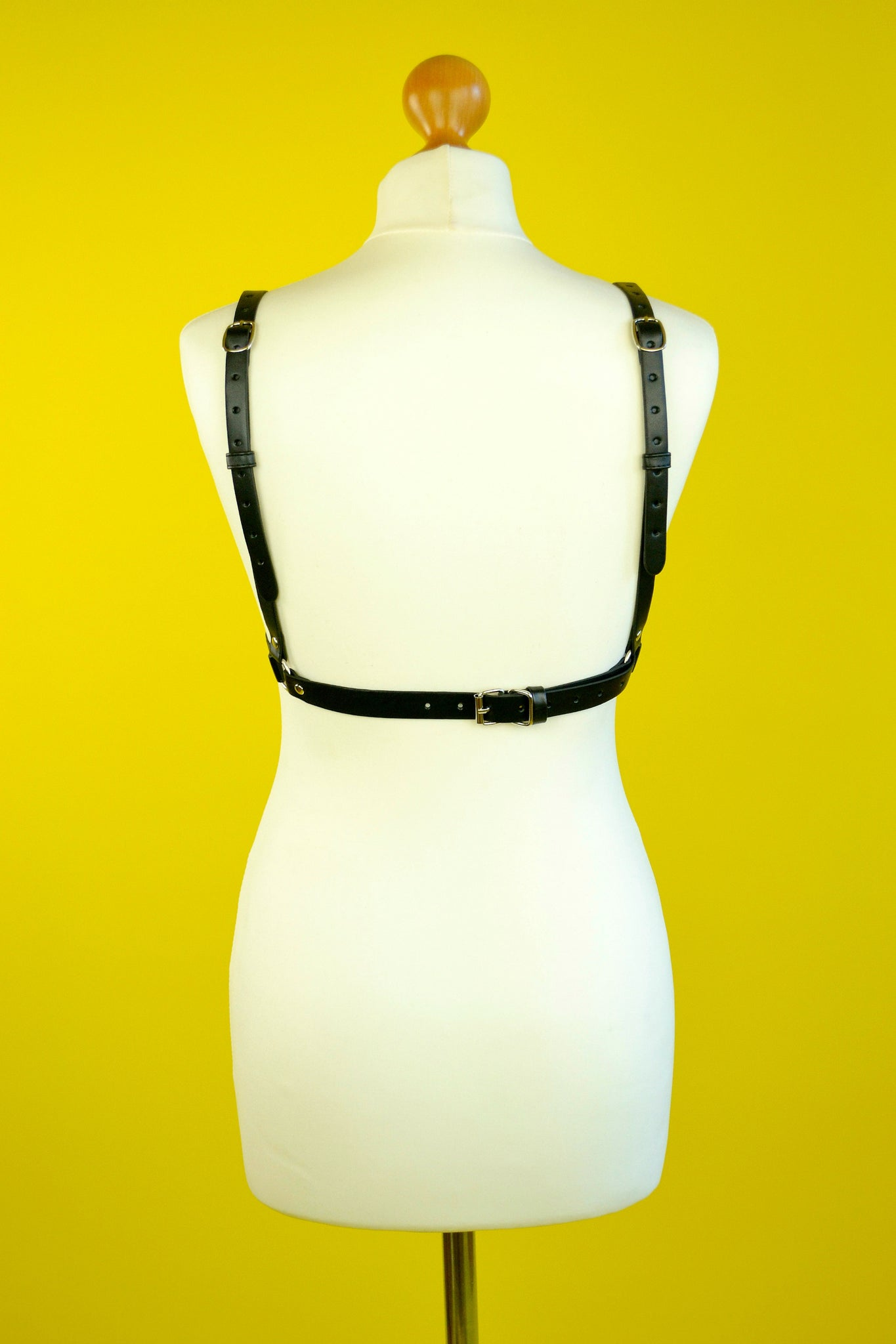 Fembot leather bralet