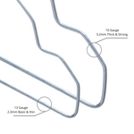 White Wire Coat Hangers