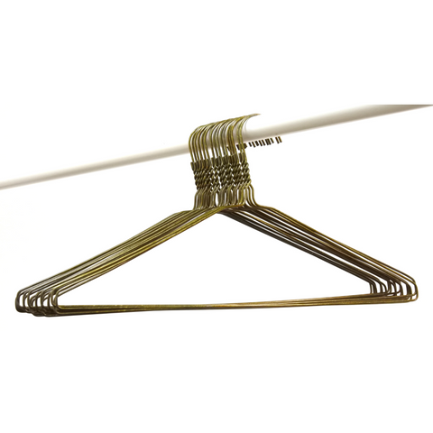 Bronze Wire Coat Hangers