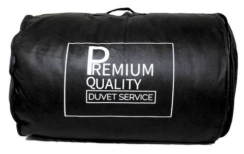 Non Woven Duvet Bag - Black (25 pcs)