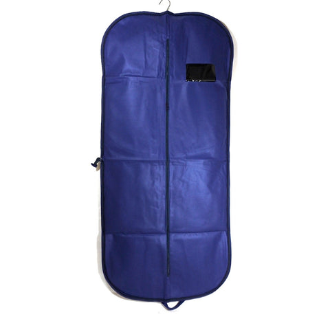 Non Woven Suit Carrier With Zipper 54 Inch (12 or 25 Pcs)