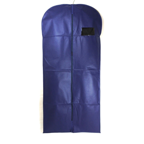 "Non Woven Suit Cover - Navy 24""x54"" (12 or 25 Pcs)"