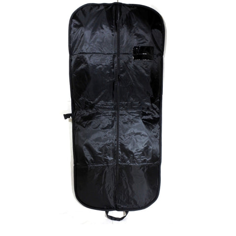 Nylon Suit Carrier With Zipper Black 54 Inch (12 or 25 Pcs)