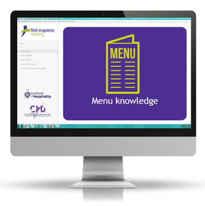 Menu knowledge