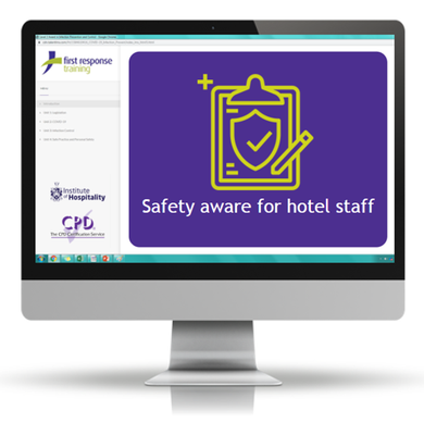 Safety aware for hotel staff