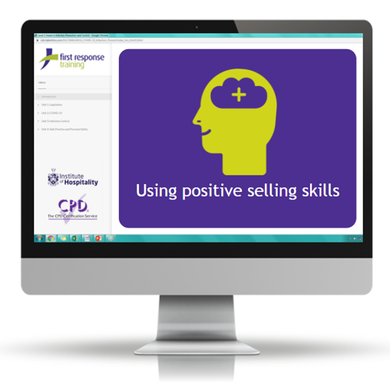 Using positive selling skills