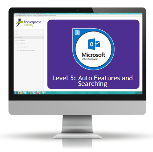 Outlook 2019 - Level 5 Auto Features and Searching