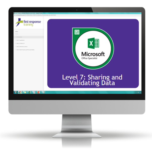 Excel 2019 - Level 7 Sharing and Validating Data