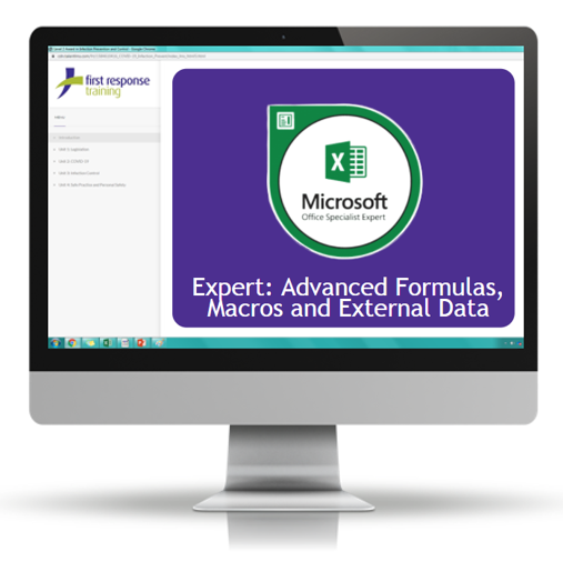 Excel 2019 - Expert Advanced Formulas, Macros and External Data